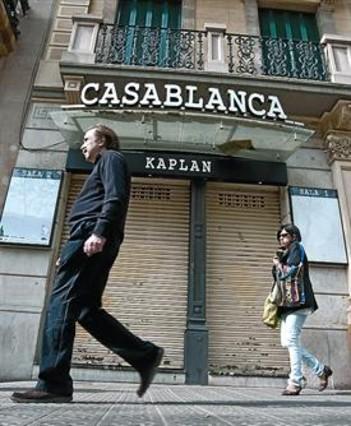 El mítico cine Casablanca cierra las puertas ahogado por deudas