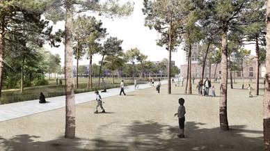 El parque de Glòries será un 40% más caro y no tendrá tranvía