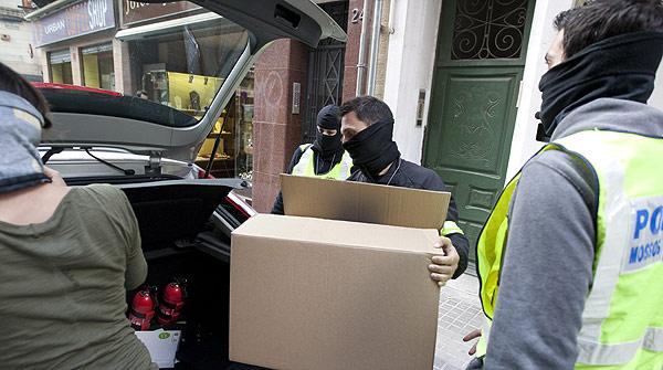 Los Mossos d'Esquadra han detenido a una veintena de personas en Barcelona, pertenecientes a la banda latina Black Panthers