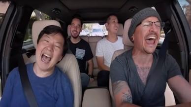 Chester Bennington participó en 'Carpool Karaoke' una semana antes de suicidarse