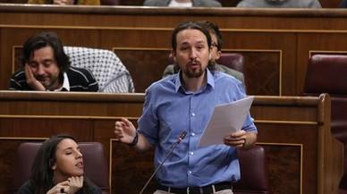 """Iglesias confirma que no le """"desagradaría"""" que Domènech lidere Podem"""