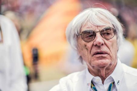 El due�o de la F1 Bernie Ecclestone, durante un gran premio
