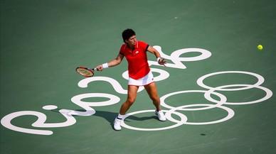 Carla Suárez s'acomiada del seu somni olímpic