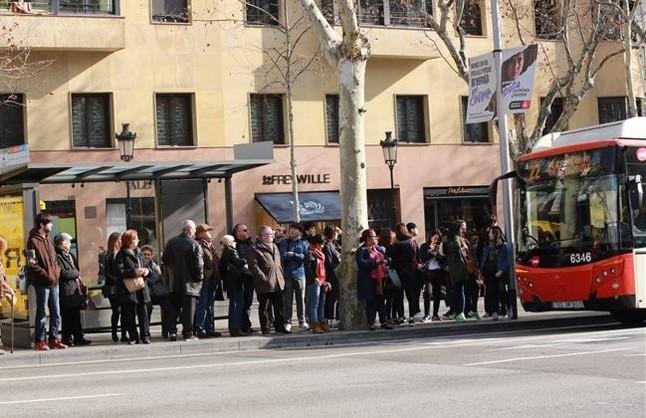 El bus rebutja sumar-se al metro en el 'boicot' al Mobile World Congress