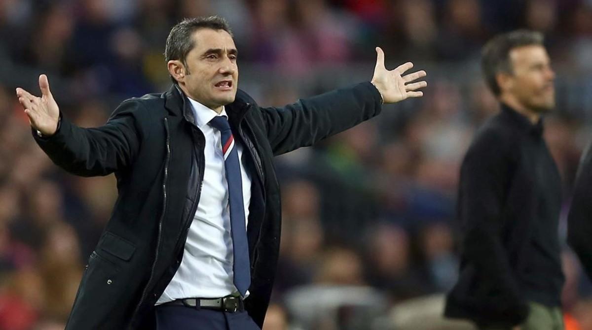 El Barça, pendiente de Ernesto Valverde