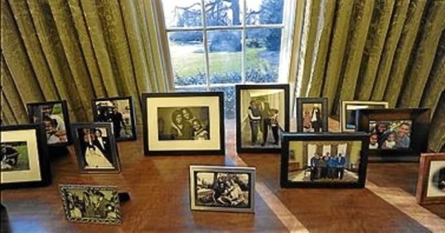 Obama impone su estilo y reemplaza el busto de churchill for Oficina king barcelona