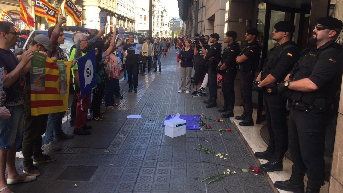 Gran operació de la Guàrdia Civil contra institucions del Govern català