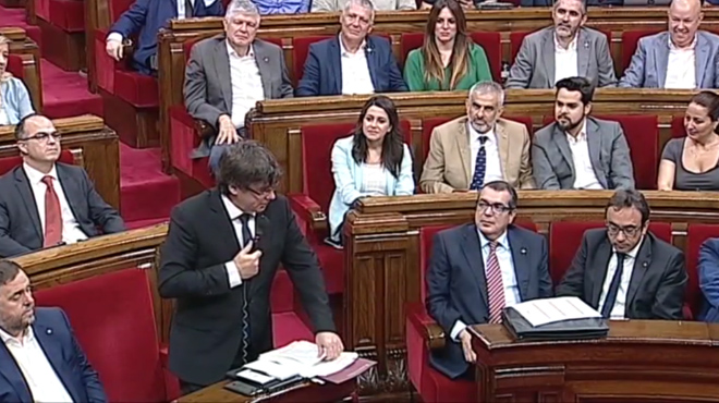La Guardia Civil interroga un càrrec del Govern català i funcionaris pel referèndum