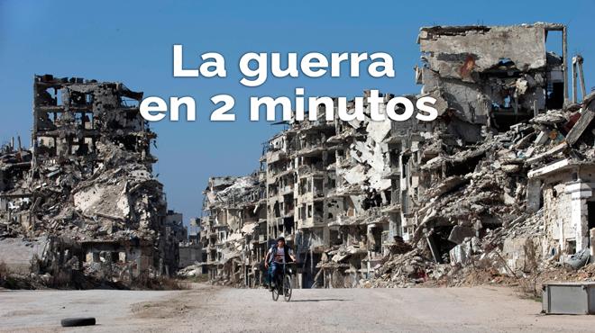 La guerra de Siria en dos minutos