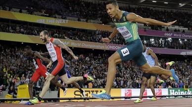Guliyev derrota Van Niekerk i Makwala s'enfonsa al final