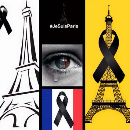 Atentados en París: Twitter se tiñe con la bandera y los símbolos franceses