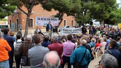 Clam a Tarragona per tenir un servei ferroviari digne