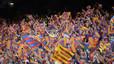 Mocadorada contra Tebas al Camp Nou