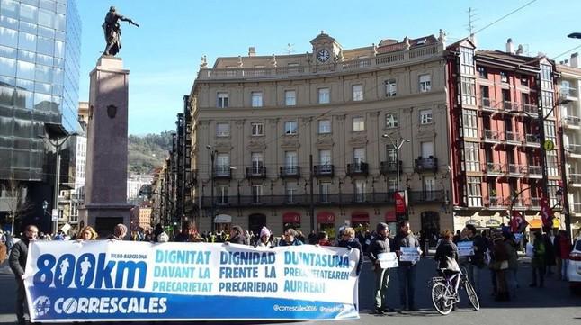 La 'marea blava' recapta més de 121.000 euros per a una caixa de resistència