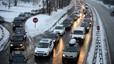 """La circulació als Alps francesos torna """"gairebé a la normalitat"""" després de la nevada"""