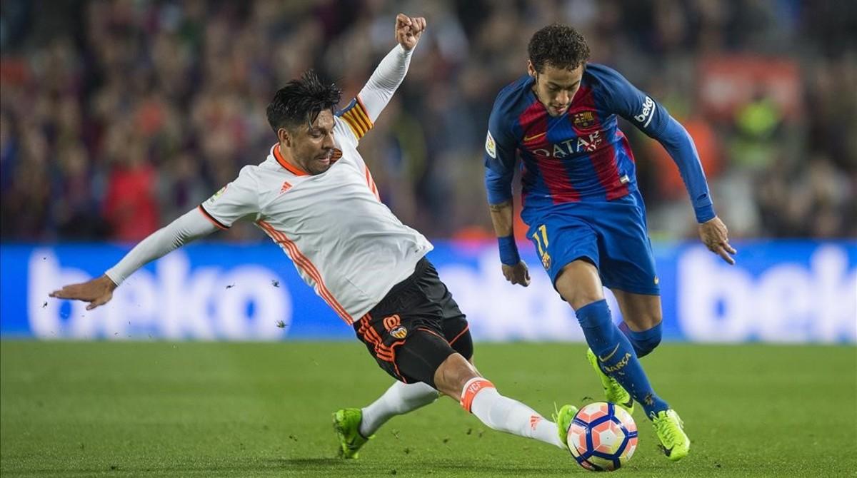 Neymar, el asistente