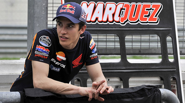 Marc M�rquez, segundo eliminado de la carrera por el Catal� de l'Any