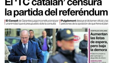 Del desafiament del referèndum de Puigdemont, del Rato com cal i del forat negre de Susana
