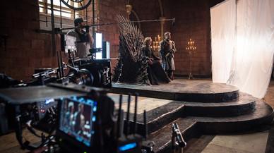 Escena del rodaje de la T7 de'Juego de Tronos'.
