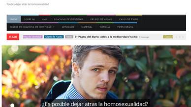 """Una associació LGTB clama el tancament d'una web que promet ajudar a """"deixar enrere l'homosexualitat"""""""