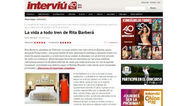'Interviú' va revelar els excessos de Rita Barberá
