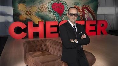 Risto Mejide, en el plató del programa 'Chester in love', de Cuatro.