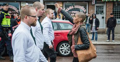 Tess Asplund, cara a cara frente a los nazis.