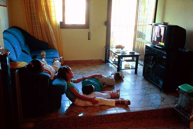 2012; el a�o que pasamos m�s horas ante el televisor