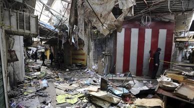 Almenys 37 morts en un atemptat amb cotxe bomba a Bagdad