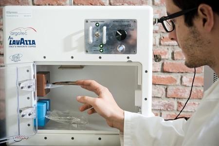 La m�quina de 'espresso' que estrenar�n los astronautas de la ISS.