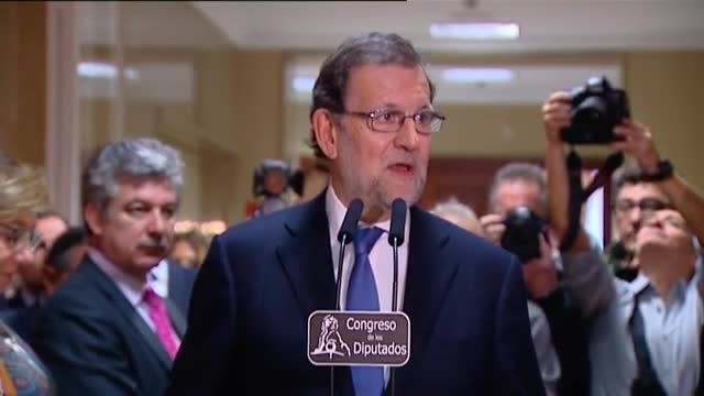 Declaraciones de Mariano Rajoy en el Congreso de los Diputados