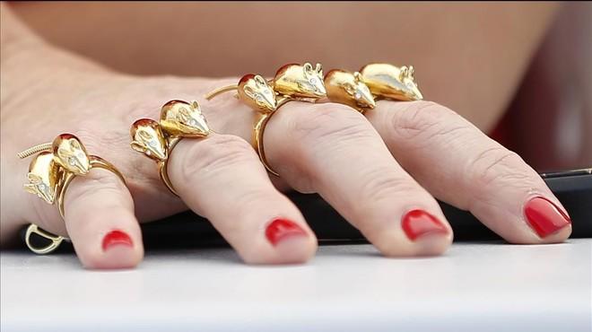 Talons de Gucci i vuit ratolinets d'or per a Rossy de Palma