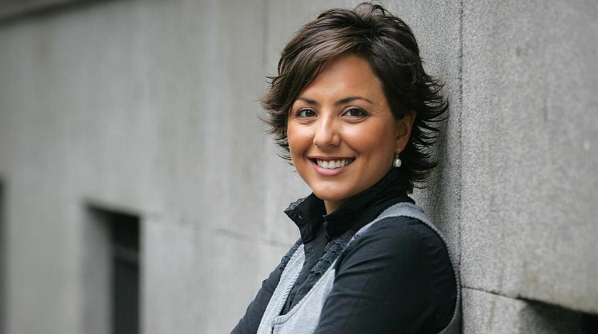 La periodista Sonsoles Onega.