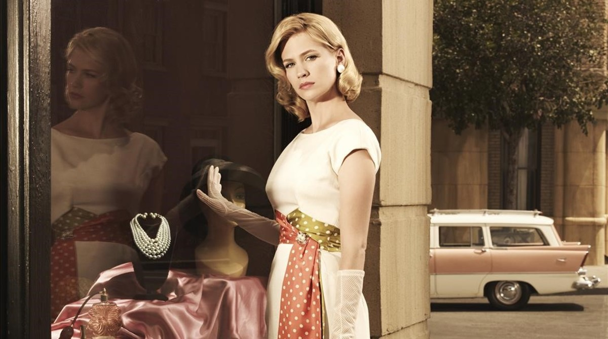 January Jones, la madre pasota de Mad men