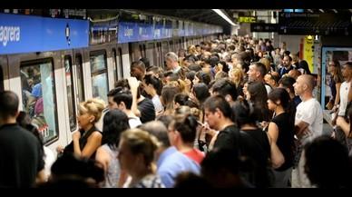 Lunes sin huelga de metro pero con cortes por obras