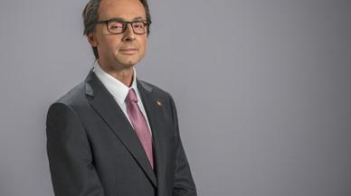 Bruno Oro, caracterizado como Artur Mas, en 'Polònia'.