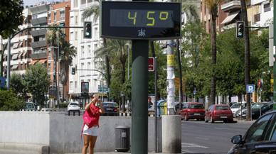 Alerta per calor: les temperatures poden arribar a 43 graus