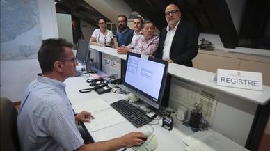 La CUP sostiene que el Govern ya tiene censo electoral para el 1-O
