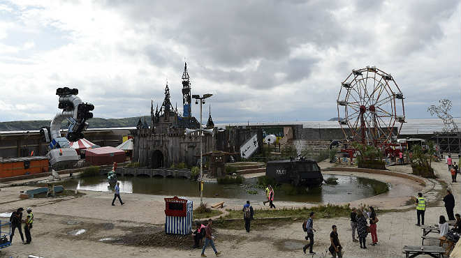 Banksy La Disneyland de