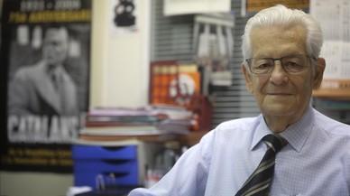 Fallece Enric Pubill, el presidente de la Asociación Catalana de Expresos del Franquismo