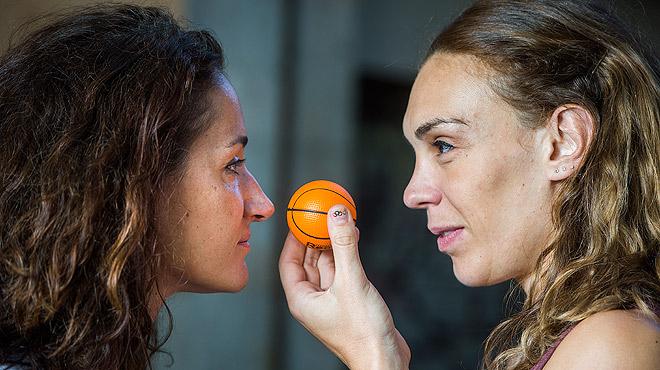 Entrevista amb Laia Palau i Lucila Pascua, jugadores de la selecci� espanyola de b�squet, despr�s de�guanyar la medalla de plata a�Rio 2016.