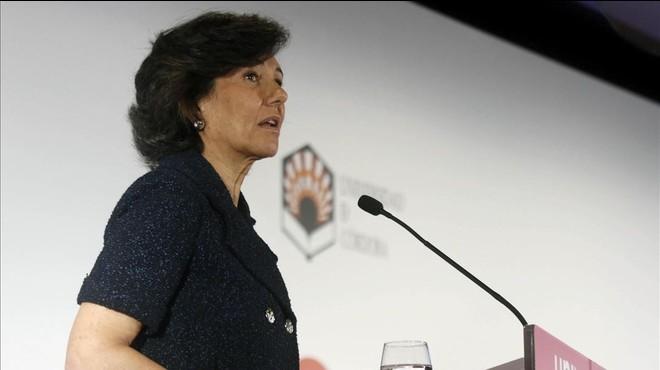 """Ana Botín advoca per un sistema educatiu basat en la """"igualtat d'oportunitats"""""""