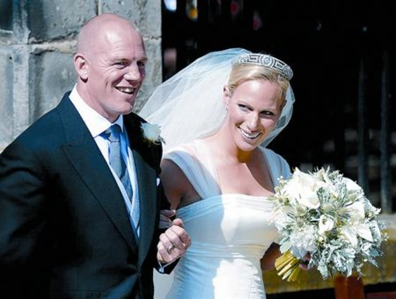 Matrimonio Zara Phillips : La discreta boda de zara phillips y mike tindall