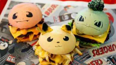 Llegan las hamburguesas de Pokémon Go, ¿puedes con todas?