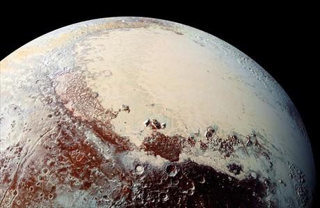 Imagen de Plut�n capturada por la nave espacial New Horizons de la NASA.