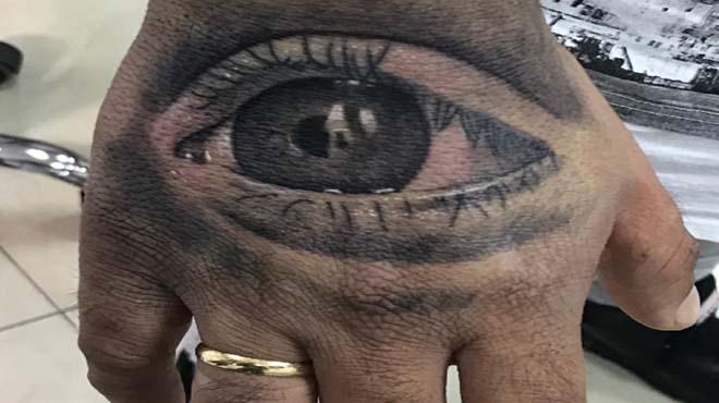 Kiko Rivera es tatua l'ull de la seva filla