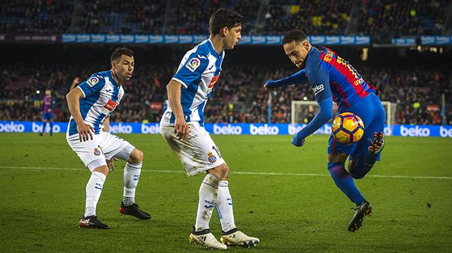 Les millors fotos del Barça-Espanyol