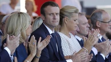 Macron rinde homenaje a las víctimas del atentado de Niza