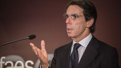 """Aznar: """"La reforma de la Constitució no pot ser un pagament a terminis als secessionistes"""""""