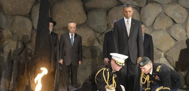 Obama desvincula el holocausto de la creaci�n del Estado de Israel
